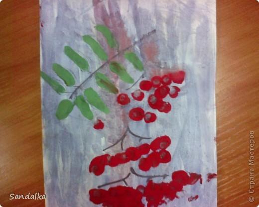 Рисуем с детками двух лет