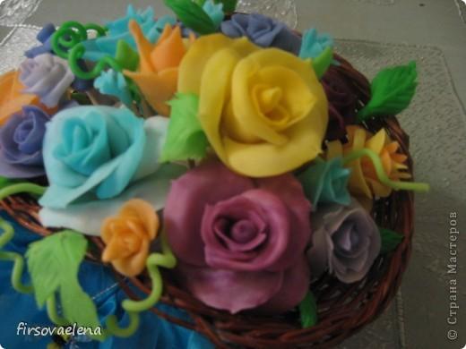Вот и мои розы расцвели.... Правда крахмал картофельный, но теперь есть стимул искать кукурузный. фото 3