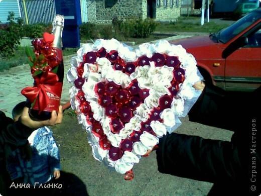 Сладкое сердце в дуэте с шампанским) фото 1