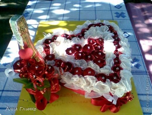 Сладкое сердце в дуэте с шампанским) фото 2