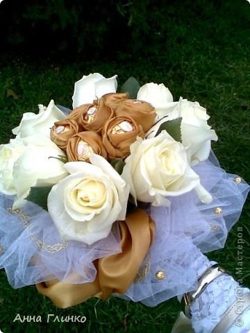 Мой свадебный сладкий букет фото 1