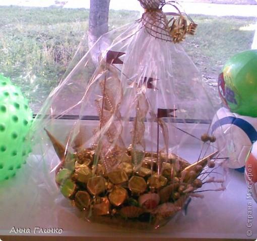 Кораблик с конфетами) фото 3