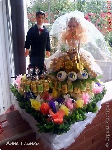 Свадебная конфетница) фото 1