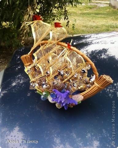 Кораблик с конфетами) фото 1