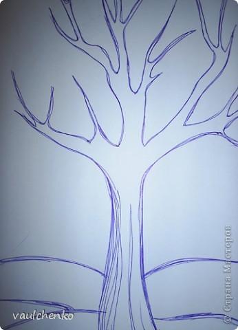 Вспомнила простой способ выполнения панно, получается быстро (на уроках успеваем), симпатично, нарядно. фото 2