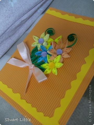 еще одна открытка ко Дню Рождения. фото 3