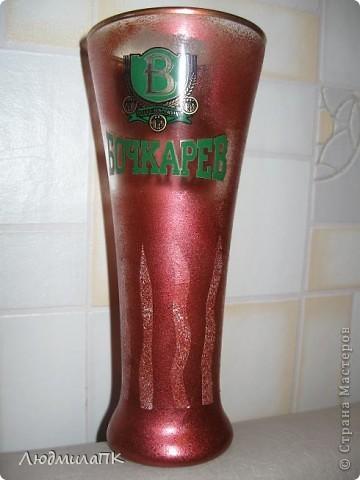 Оформила бокалы для пива. Весь процесс запечатлела на фото. Может, кому пригодится :)) фото 5