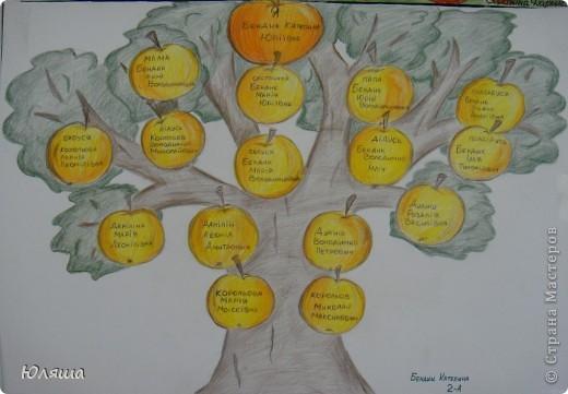 Как нарисовать дерево семьи Crm продажи