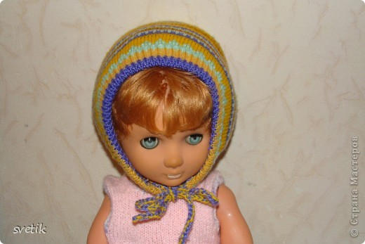 Теплая зимняя шапочка фото 10