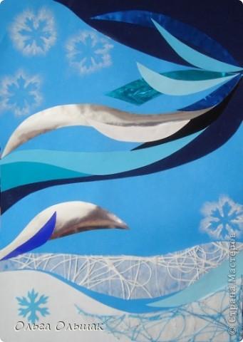 Задумала я осилить  к Новогодним праздникам три композициии. Вот сегодня родилась первая, в первый по-настоящему морозный день, у нас сегодня -20. А то уже думали,что зимы нынче не будет. фото 2