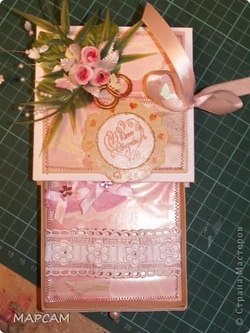 Общий вид кробочки для денег. Делала по мастер -классу http://mu-ha.blogspot.com/2009/09/blog-post_11.html. фото 2