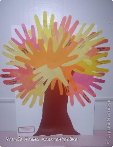 Дети с огромным удовольствием изображают окружающий мир  при помощи вырезанной из цветной бумаги ладони, создавая различные сюжеты, предметы, животных и тд. фото 3