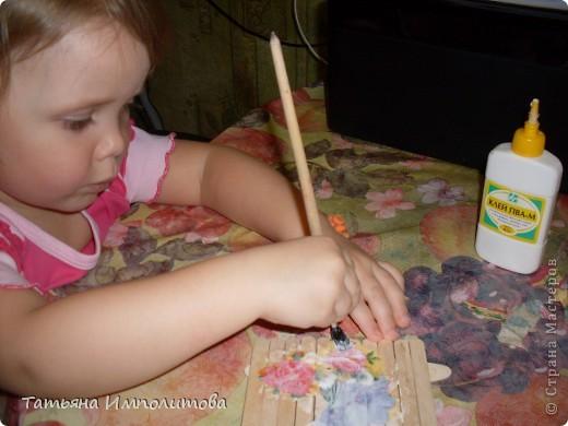 Идею детского декупажа увидела в интернете и в Стране Мастеров,но у кого не запомнила. фото 3