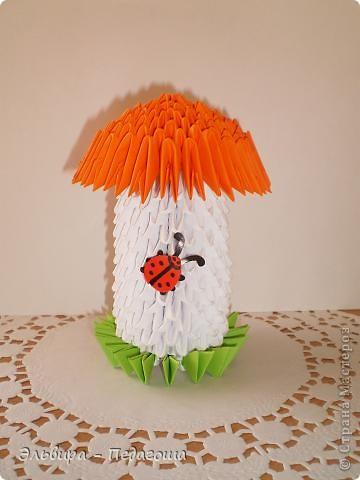 За МК по изготовлению такого грибочка благодарю п4елка_Зоя  http://stranamasterov.ru/node/16256?c=favorite_c фото 1