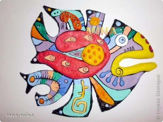 Рыбина заморская.  Копия с авторского батика  http://agneshka1969.gallery.ru/watch?ph=Juf-b8lgt фото 1
