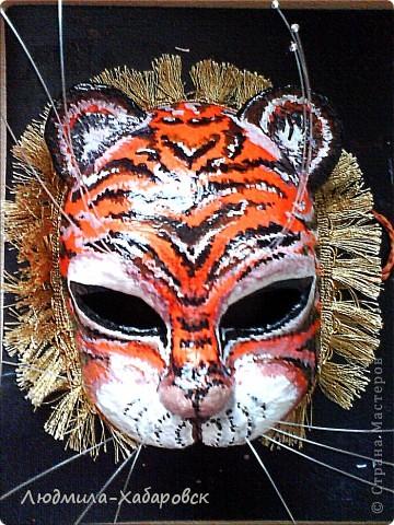 маска новогодняя
