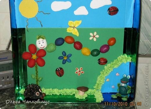 Наша поделка победила на осеннем конкурсе в детском саду, а сейчас её отправили на конкурс между садиками. Надеемся на призовое место! фото 2
