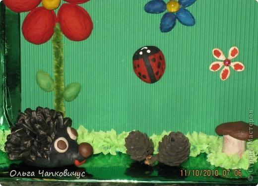 Наша поделка победила на осеннем конкурсе в детском саду, а сейчас её отправили на конкурс между садиками. Надеемся на призовое место! фото 4