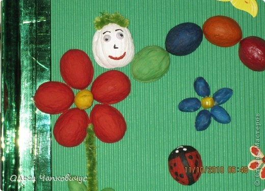 Наша поделка победила на осеннем конкурсе в детском саду, а сейчас её отправили на конкурс между садиками. Надеемся на призовое место! фото 5