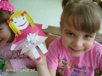 Кукла - оригами