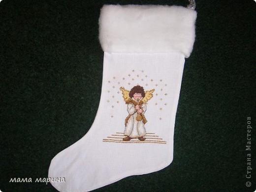 новогодние носочки фото 1