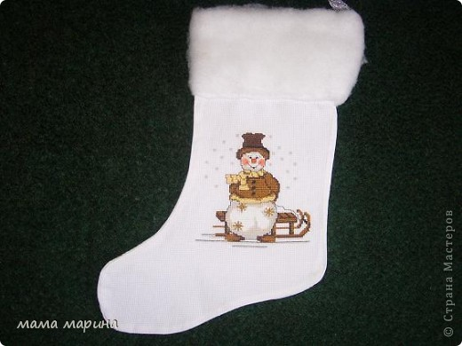 новогодние носочки фото 2