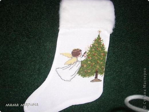 новогодние носочки фото 4