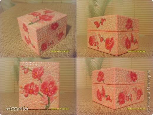 "Шкатулка ""Орхидея"" фото 1"