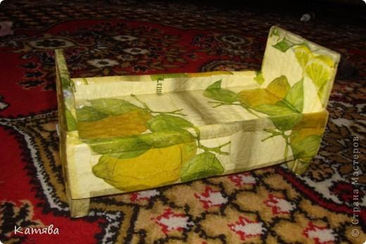 Сейчас расскажу как изготовить вот такую кроватку для куклы. фото 6