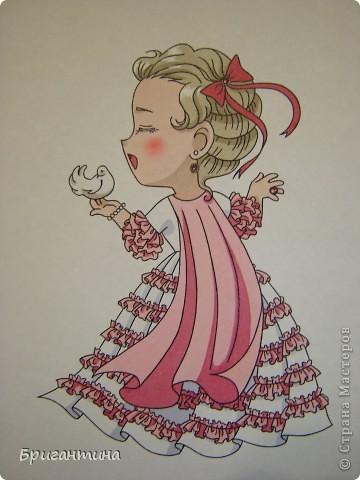 Моя сестра Antoine любит рисовать мангу и малышек чиби. Эти рисунки выполнены фломастерами. фото 1