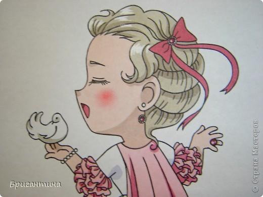 Моя сестра Antoine любит рисовать мангу и малышек чиби. Эти рисунки выполнены фломастерами. фото 3