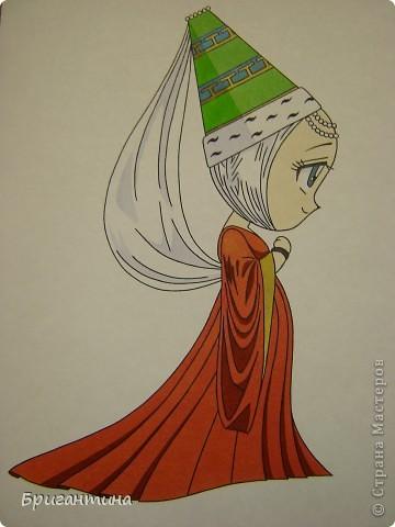 Моя сестра Antoine любит рисовать мангу и малышек чиби. Эти рисунки выполнены фломастерами. фото 6