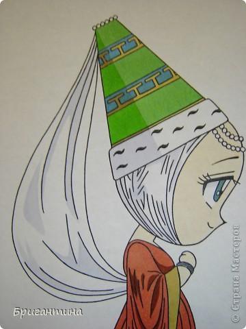 Моя сестра Antoine любит рисовать мангу и малышек чиби. Эти рисунки выполнены фломастерами. фото 7