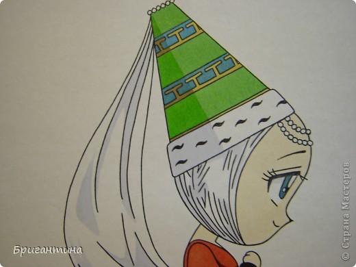 Моя сестра Antoine любит рисовать мангу и малышек чиби. Эти рисунки выполнены фломастерами. фото 8