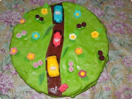Тортик для сынули на 3-хлетие фото 1