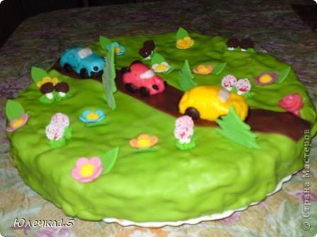 Тортик для сынули на 3-хлетие фото 2