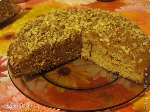 Очень вкусный пирог с насыщенным вкусом вареной  сгущенки. фото 12