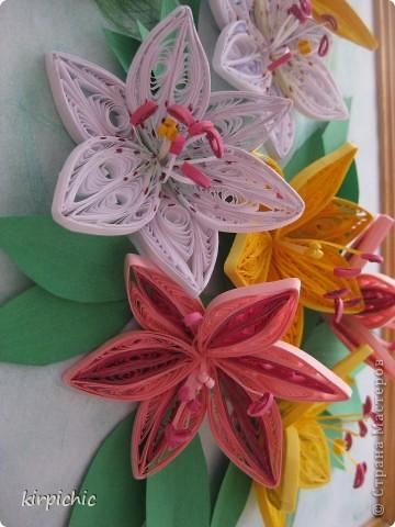 Лилии бывают разные, хотелось все варианты попробывать, но терпения хватило только на эти...:) фото 3
