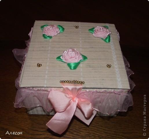 Коробка  для  рукоделия. фото 1