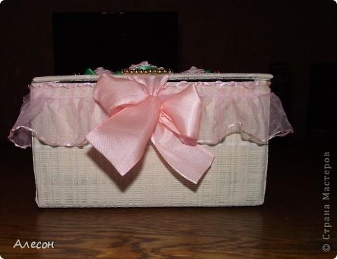 Коробка  для  рукоделия. фото 2