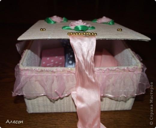 Коробка  для  рукоделия. фото 4