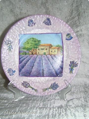 Прямой декупаж, по краю яичная скорлупа, мотив салфетка, хрустальная паста. фото 1