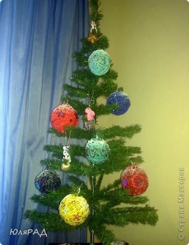 Вот такие шарики у меня получились, сделала из за вечер))) фото 1