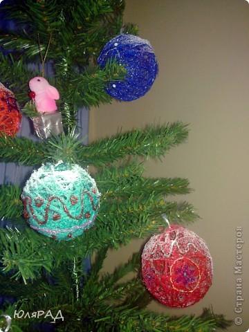 Вот такие шарики у меня получились, сделала из за вечер))) фото 2