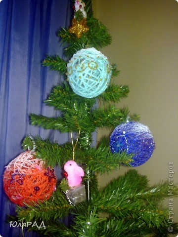 Вот такие шарики у меня получились, сделала из за вечер))) фото 3