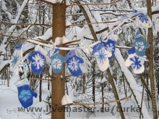 """Шарфик-боа """"Проделки снежной принцессы"""" фото 1"""