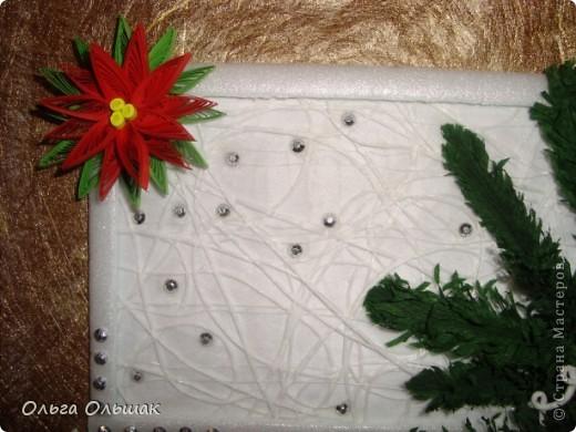 На этот раз получилась  новогодняя композиция с колокольчиками. фото 5