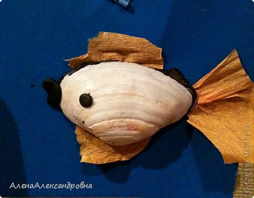 Таких рыбок делали наши дети сегодня. фото 2