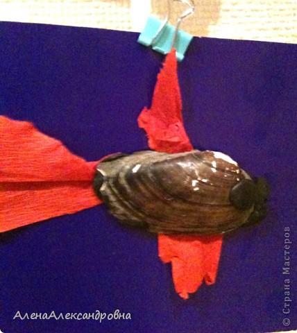 Таких рыбок делали наши дети сегодня. фото 3