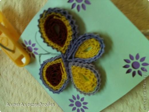Таких бабочек мы делали вчера на занятии. фото 4